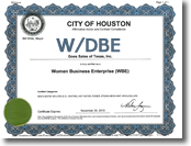 GOES Heating Systems is WBE Certified