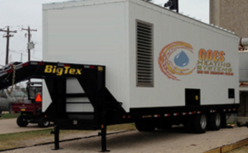 Trailer for UTMB Goes Heating Systems Houston